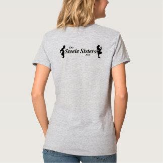 Horses, Flowers, Weapons Steele Sisters Ladies T T-Shirt