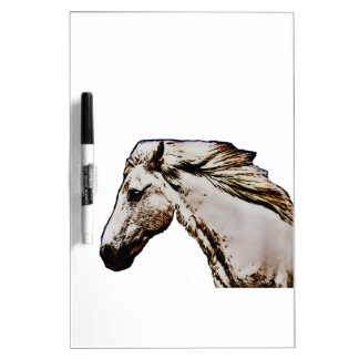 Horse's Head Dry Erase Whiteboard