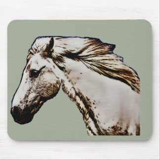 Horse's Head Mouse Pad