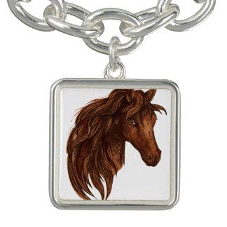 Horses Horse Sport Charm Bracelet