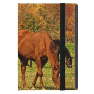 Horses in Autumn iPad Mini Case