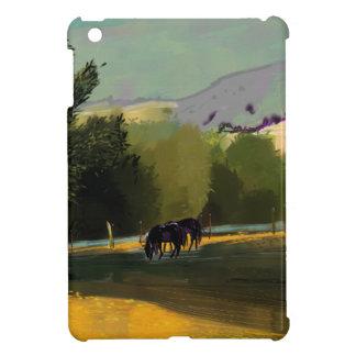 HORSES IN FIELD iPad MINI COVERS