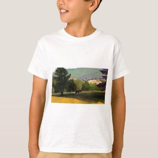 HORSES IN FIELD T-Shirt