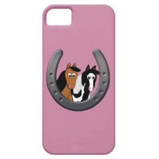 horses in horseshoe iPhone 5 case