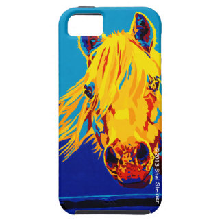 Horses in Primary by Shai Steiner iPhone 5 iPhone 5 Covers