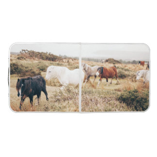 Horses in the Nature Pong Table