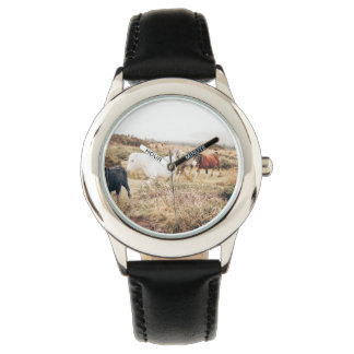 Horses in the Nature Wristwatches