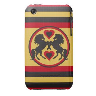 HORSES LOVE DANCE iPhone 3 Case-Mate Case