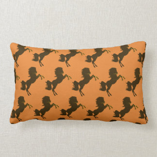 horses lumbar pillow