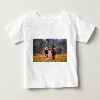 Horses Nature Baby T-Shirt