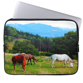 Horses Neoprene Laptop Sleeve