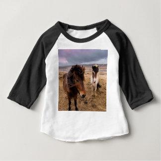 Horses of Iceland Baby T-Shirt
