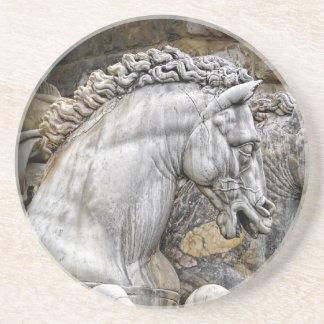 Horses of Neptune Statue Italy 1 Coaster