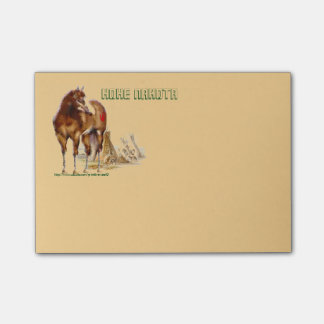 """Horses of the Hohe Nakota"" Post-it® Notes"