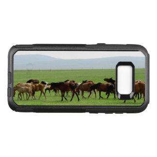 Horses on Pasture - Landscape Photograph OtterBox Commuter Samsung Galaxy S8+ Case