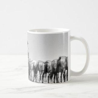 Horses On The Ropes Mug