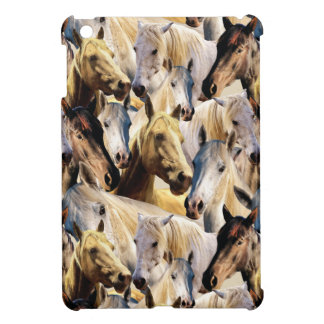 Horses pattern cover for the iPad mini