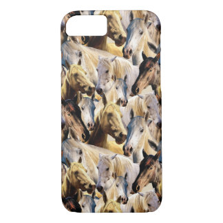Horses pattern iPhone 8/7 case