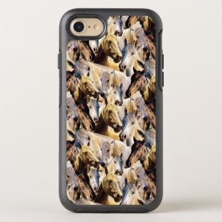 Horses pattern OtterBox symmetry iPhone 7 case