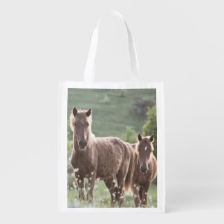 Horses Reusable Grocery Bag