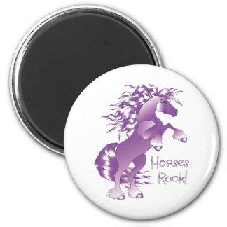Horses Rock posteredge Magnet