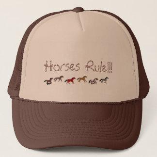 Horses Rule!!! Trucker Hat