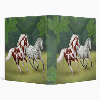 Horses Running Free Avery Binder