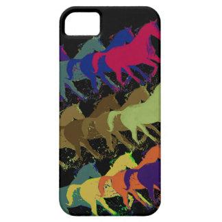 horses running iPhone 5 cases