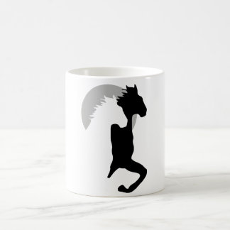 horses running together cup mug