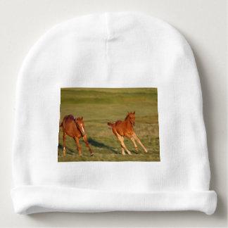 Horses Running Wild Baby Beanie