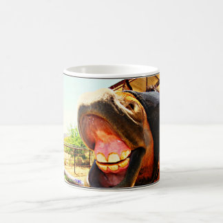 """""""Horse's Smile' Coffee Cup"""