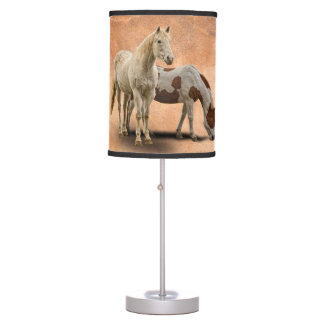 HORSES TABLE LAMP