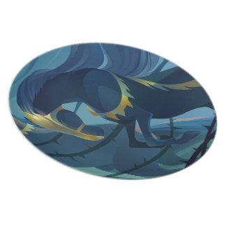 Horses - Thorns Melamine plate