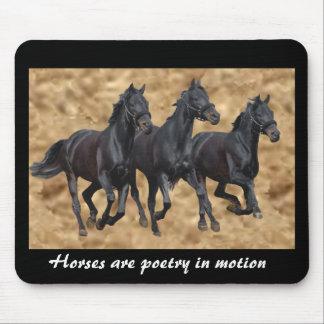 Horses Wild Mousepad