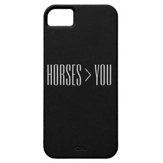 """Horses > You"" Phone Case"