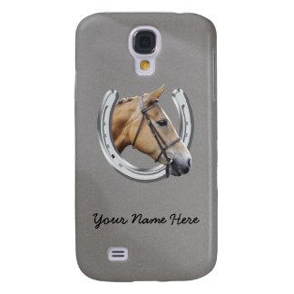 Horseshoe and horse