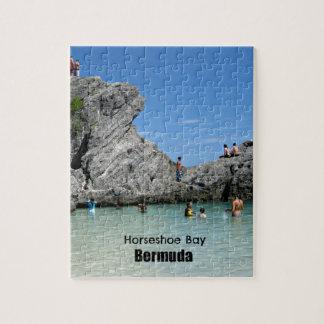 Horseshoe Bay, Bermuda Jigsaw Puzzle
