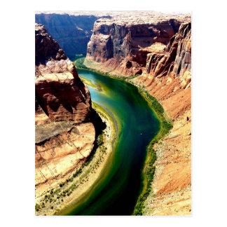 horseshoe bend Arizona Colorado river Postcard