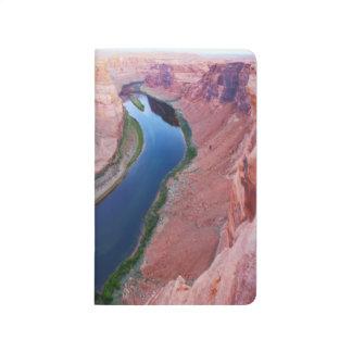 Horseshoe bend Arizona top view Journal