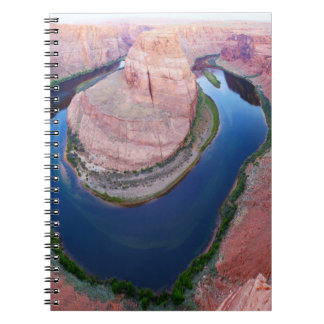 Horseshoe bend Arizona top view Notebooks
