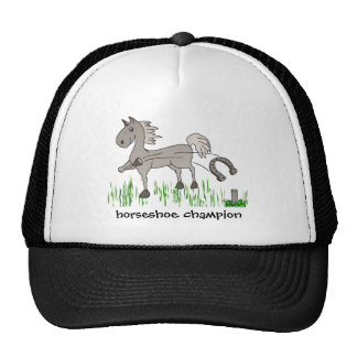 horseshoe champion trucker hat