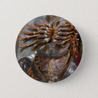 Horseshoe Crab ... Thai Asian Street Food 2 Inch Round Button