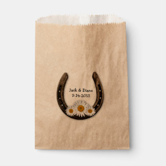 Horseshoe Custom Favor Bag