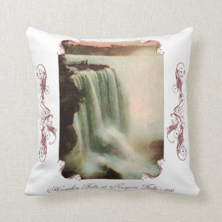 Horseshoe Falls at Niagara Throw Pillow