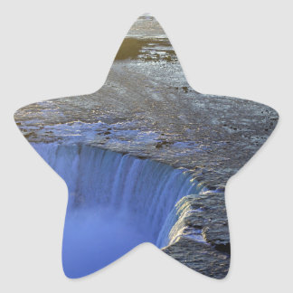 Horseshoe Falls, Canada Star Sticker