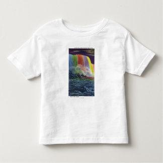 Horseshoe Falls Illuminated at Night Toddler T-shirt