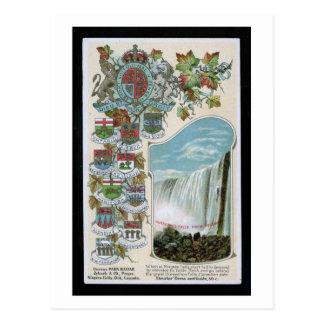 Horseshoe Falls, Niagara Falls, Canada Vintage Postcard