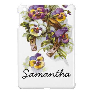 HorseShoe Florals iPad Mini Cases