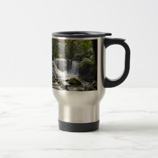 HORSESHOE GALLS MT FIELD NATIONAL FALLS TASMANIA TRAVEL MUG