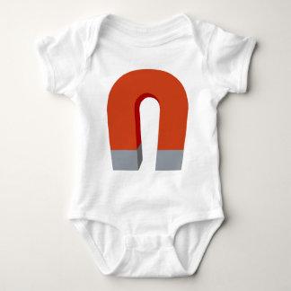 Horseshoe Magnet Baby Bodysuit